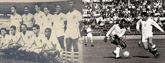 São Cristóvão no Maraca em 1951, e Tchecoslovaquia no Chile em 1962. Qual é qual?