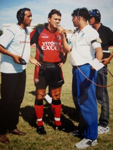 Petkovic no Vitória em 1998 no Adauto Morais